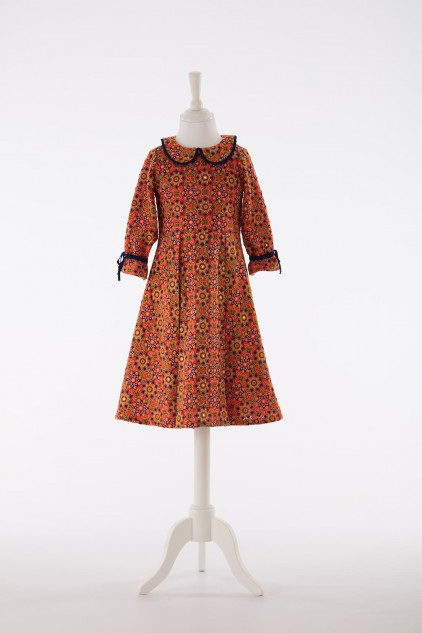 Mille Hand-Woven Cotton Embroidered Summer Dress