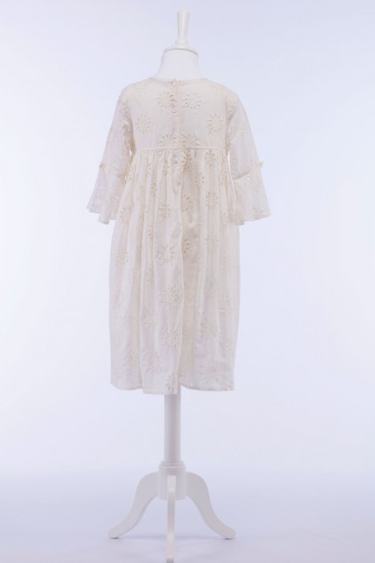 Summer Cotton Embroidered Dress