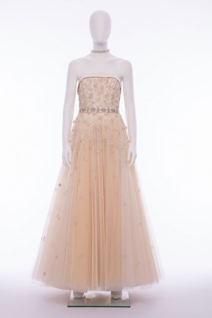 Grace Hand Embroidered Sequin Embellished Maxi Wedding Dress