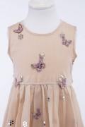 Chandini Indian Cotton Silk Chanderi Occasional Dress