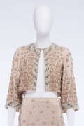 Isabella 04J Vintage Baroque Sequin Embellished Jacket