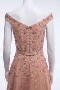 Natasha Hand Embroidered Sequin Embellished Maxi Dress