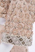 Isabella 04 Vintage Mother of the Bride Wedding Guest Baroque Sequin Embellished Skirt Suite