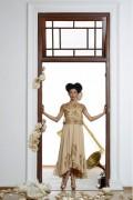 Isabella 03 with Sequin Jacket Vintage Midi Dress