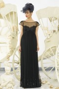 Charlotte 02 Vintage Black Evening Gown