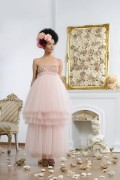Elizabeth 01 Tulle Maxi Bridal Wedding Bridesmaid Dress