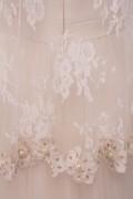 Cassandra Ivory Lace Sequin Wedding Bridal Dress