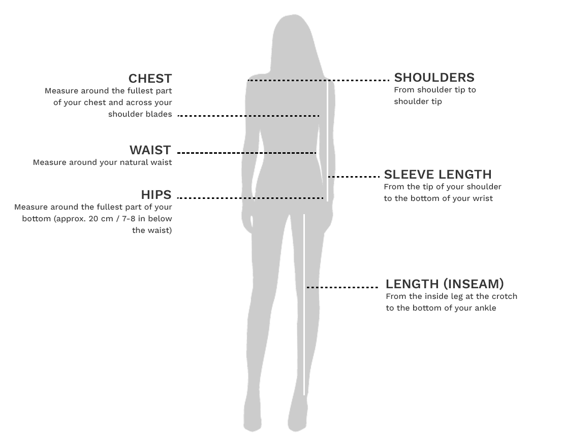 Women Measuring Guide